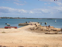 The harbour at Kilwa Masoko